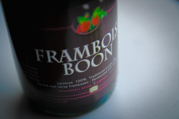 Billede af label på en spontangæret øl